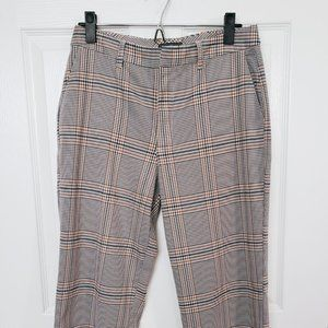 a&f: plaid trousers
